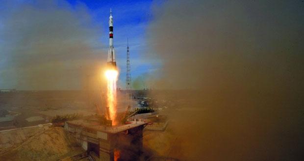 رائدا فضاء أميركي وروسي ينطلقان إلى المحطة الدولية .. والصين تطلق أول سفينة شحن غير مؤهلة في الفضاء