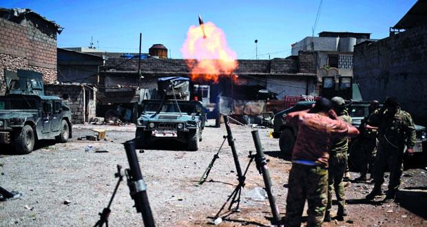 القوات العراقية تتقدم بالموصل وتستعيد السيطرة على أحياء جديدة