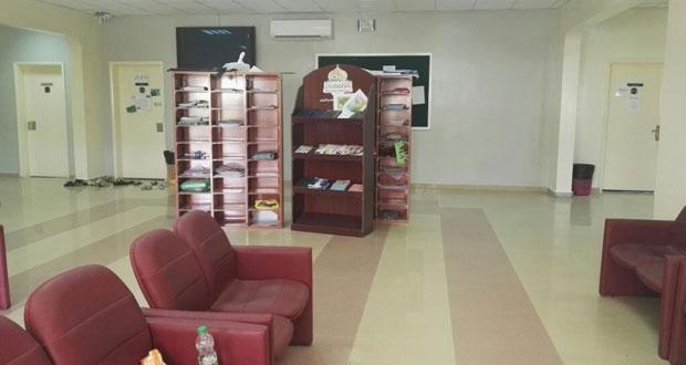 مشروع لتطوير استراحات الطلبة بتطبيقية نزوى