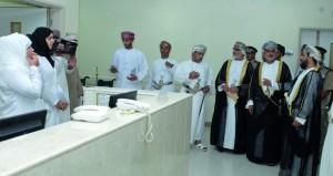 افتتاح مستشفى مصيرة الجديد