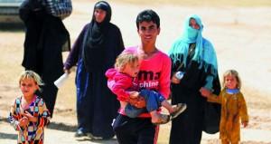 العراق: تحرير موقع (الحضر) من (داعش) والتنظيم يستخدم (دون طيار) في المعارك