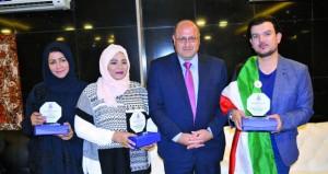 حفصة التميمية تحصد جائزة بملتقى الرواد الدولي للفنون التشكيلية بالأردن