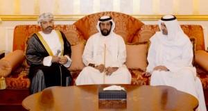تعازي جلالة السلطان لحاكم الفجيرة ينقلها وزير الداخلية
