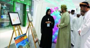 """افتتاح معرض حملة """"لنحتويهم"""" لرسومات أطفال متلازمة داون"""