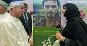 افتتاح معرض الوظائف السنوي لواحة المعرفة مسقط وكلية الشرق الأوسط