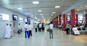 3.6 مليون مسافر عبر مطاري مسقط الدولي وصلالة بنهاية الربع الأول
