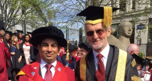 جامعة بريطانية تمنح الدكتوراة الفخرية للدكتور عبدالله الحراصن