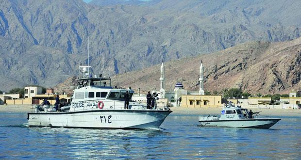 الشرطة تحتفل بأسبوع حرس الحدود وخفر السواحل الخليجي