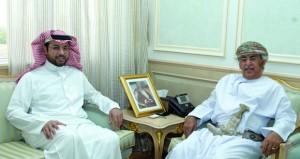 وزير الصحة يستقبل مدير عام مجلس الصحة بدول المجلس