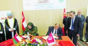 السلطنة وتونس توقعان على مذكرات تفاهم عدد من المجالات