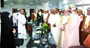 الاحتفال بافتتاح مبنى دائرة صندوق تقاعد موظفي الخدمة المدنية بظفار