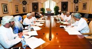 اجتماع اللجنة المشتركة بين جامعة السلطان قابوس والتنمية الاجتماعية