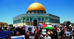 الفلسطينيون يحددون 3 مايو (يوم الزحف) لنصرة (أسرى الحرية) والإضراب يمتد إلى خارج السجون