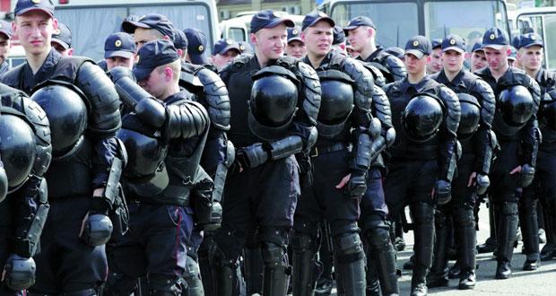 روسيا: مكافحة الشغب تنتشر في موسكو قبل احتجاج للمعارضة