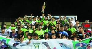 الشموخ يتوج بطلا لبطولة النجوم الثانية لكرة القدم بالخابورة ، والنصر وصيفا