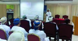 ختام ملتقى ودورة الإدارة المالية للمؤسسات الرياضية بمحافظة الداخلية