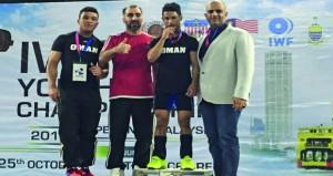 الرباع مرشد يشارك في بطولة العالم للناشئين في تايلند