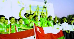 ختام منافسات الدورة الإقليمية الـ11 لشبكة مدارس سابس الدولية في القوى والسلة والقدم والسباحة