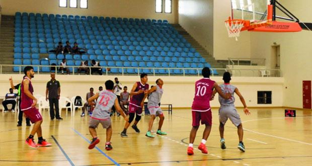 مركز محافظة شمال الباطنة يتوج بطلا لدوري مراكز إعداد الناشئين لكرة السلة