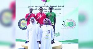 منتخب العموم يضيف ميدالية برونزية في سباق تتابع 4×100 متر