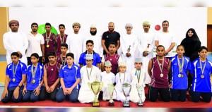 ختام الأيام الأولمبية المدرسية بمشاركة312 لاعبا ولاعبة من 11 محافظة