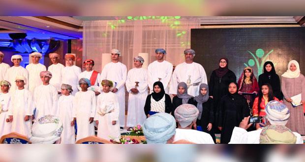 وزارة الشؤون الرياضية تكرم 79 فائزا وفائزة في مسابقات الأندية للإبداع الشبابي