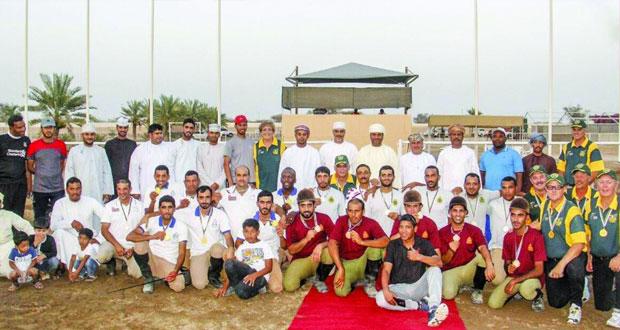 جنوب إفريقيا تحقق لقب بطولة الماستر لالتقاط الأوتاد بالرحبة