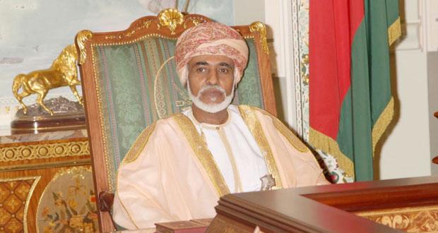 جلالة السلطان يتلقى برقية شكر من رئيس أفغانستان