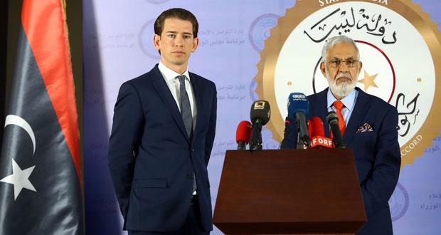 ليبيا والنمسا تؤكدان على دعم (الوفاق) للقضاء على الهجرة