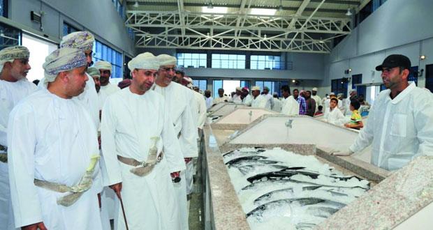 افتتاح سوق الأسماك الجديد بالسويق