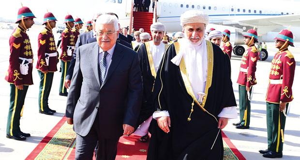 الرئيس الفلسطيني يزور السلطنة