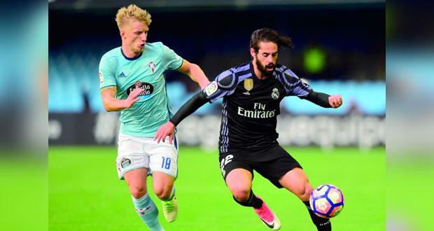 ريال مدريد على بعد نقطة من اللقب ..تفوق على سلتا فيغو برباعية في الدوري الأسباني
