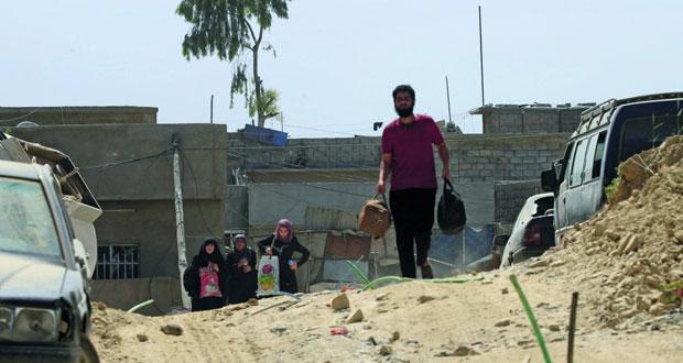 الأمم المتحدة تتوقع نزوح 200 ألف إضافيين بالعراق مع اشتداد القتال بالموصل