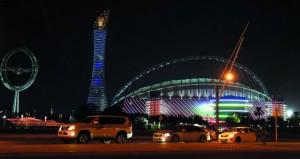 افتتاح استاد خليفة الدولي يلفت الأنظار لمونديال الدوحة 2022