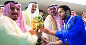 الهلال يحصد الثنائية المحلية بعد فوزه على الأهلي في نهائي كأس الملك