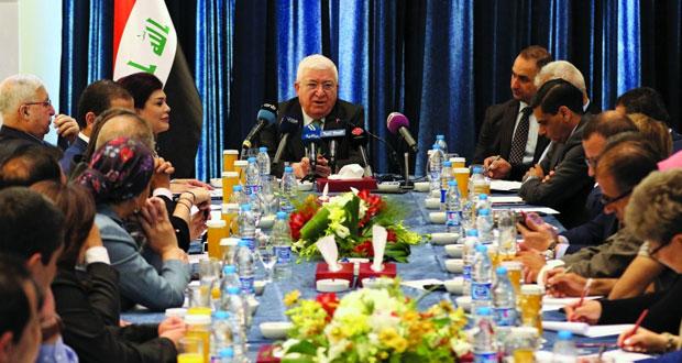 العراق: الجيش يسترد «الورشان» ومعصوم يؤكد أن «داعش» وحد بلاده