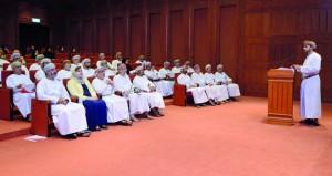 """""""الدولة"""" يستضيف الهيئة العمانية للشراكة من أجل التنمية"""