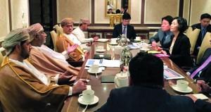 بحث سبل التعاون التجاري والاقتصادي بين منطقة الدقم ووفد الجمعية الوطنية بكوريا