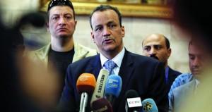 اليمن: ولد الشيخ يسعى إلى إبرام هدنة قبل شهر رمضان