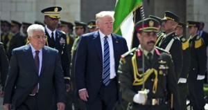 عباس لترامب: حرية الفلسطينيين واستقلالهم مفتاح السلام والاستقرار في الشرق الاوسط