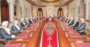 جلالة السلطان يستعرض الأوضاع المحلية والإقليمية والدولية لدى ترؤسه اجتماع مجلس الوزراء