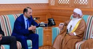 رئيس المحكمة العليا يستقبل الوفد البرلماني المغربي