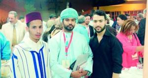 مشاركة عمانية في مهرجان فاس الدولي لفن الخط العربي والزخرفة