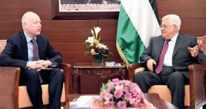 الرئيس الفلسطيني: قضية الأسرى صعبة وحساسة وطالبنا الجانب الأميركي بالتدخل