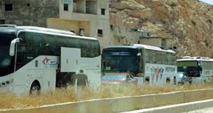 سوريا تنجز اتفاق إخلاء البرزة من المظاهر المسلحة