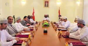 اجتماع الجمعية العامة بمجمع المحاكم بالبريمي