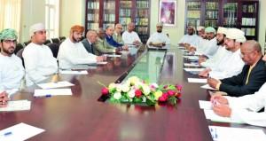 اجتماع الجمعية العامة للمحاكم بظفار