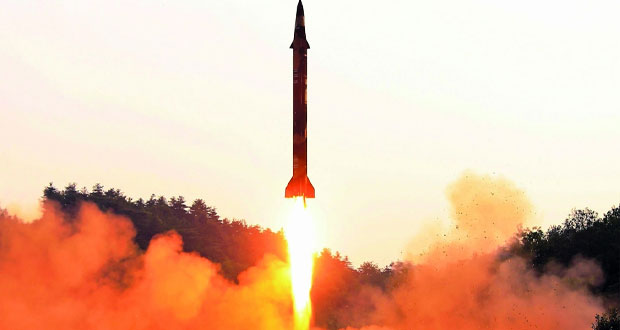 كوريا الشمالية تؤكد نجاح تجربتها الصاروخية وتتوعد الأميركان بـ(هدية أكبر)