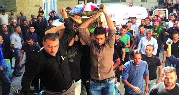 الاحتلال يسلم جثمان الشهيد الفتى رائد ردايدة