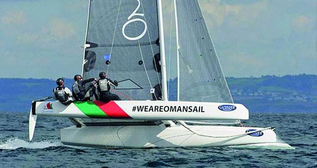 فريق عُمان للإبحار بفئة ديام 24 يختتم سباق جراند بريكس إكول نافال